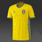 1er Maillot De Suède Uefa Champions League 2016 Boutique En Ligne