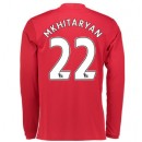 Maillot de Manchester United Henrikh Mkhitaryan Domicile Manches Longues 2016/2017