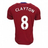 Maillot Middlesbrough FC Adam Clayton Domicile 2016/2017