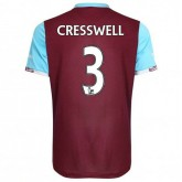 Maillot West Ham Aaron Cresswell Domicile 2016/2017