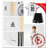 Allemagne Maillot Foot Kroos Enfant Kits Domicile Coupe Euro 2016