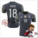 Allemagne Maillot Foot Kroos Extérieur Coupe Euro 2016