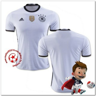 Allemagne Maillots Foot Domicile Coupe Euro 2016