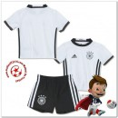 Allemagne Maillots Foot Enfant Kits Domicile Coupe Euro 2016