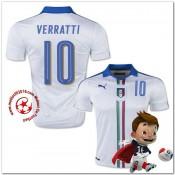 Italie Maillot Verratti Extérieur Coupe Euro 2016