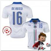 Italie Maillots De Foot De Rossi Extérieur Coupe Euro 2016
