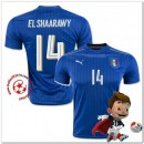 Italie Maillots De Foot El Shaarawy Domicile Coupe Euro 2016