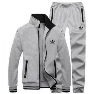 Kit Sport Adidas - Gris Clair Rabais En Ligne