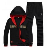 Kit Sport Adidas - Noir/Orange 2 Site Officiel France