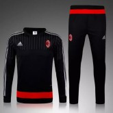 Kit Training D'Ac Milan 2015/2016 - Noir Cannes