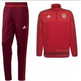 Kit Training De Bayern Munich 2015/2016 - Rouge Soldes Alsace