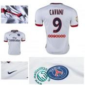 Maillot (Cavani 9) Paris Saint Germain 2015 2016 Extérieur