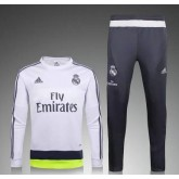 Maillot Entrainement Real Madrid 2015/2016 - Blanc Europe