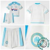 Maillot Foot Olympique De Marseille Enfant Domicile 2015-2016