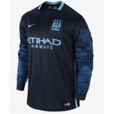 Maillot Manchester City Manches Longue 2016 Extérieur Escompte