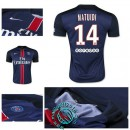 Maillot (Matuidi 14) Paris Saint Germain 2015 2016 Domicile