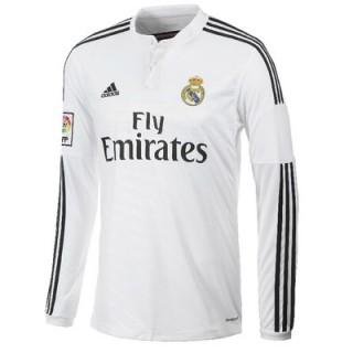 Maillot Real Madrid Manches Longue 2015/16 Domicile Paris