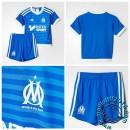 Maillots Olympique De Marseille Enfant Third 2015/16