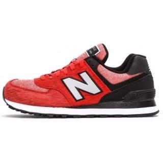 New Balance 574 Rouge Noir Blanc Acheter