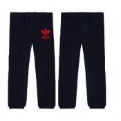 """Pantalon De Survêtement Adidas Noir Rouge """"Adidas"""" Logo Soldes Alsace"""