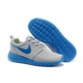 Roshe Run Nike Chaussure Gris Bleu Pas Cher Nice