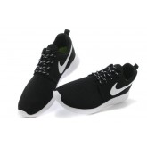 Roshe Run Nike Chaussure Noir Blanc Collection