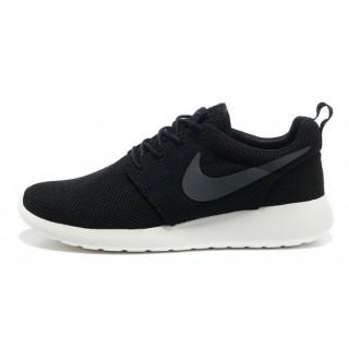 Roshe Run Nike Chaussure Noir Soldes Provence