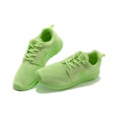 Roshe Run Nike Chaussure Vert Soldes Cannes