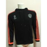 Sweat-Shirt De Manchester United 2015/2016 - Noir Vendre ? Des Prix Bas