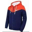 Sweater Nike 2016 - Orange/Bleu Soldes Paris