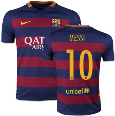 Maillot Barcelone MESSI 10 domicile maillots de football pas cher 2015 2016