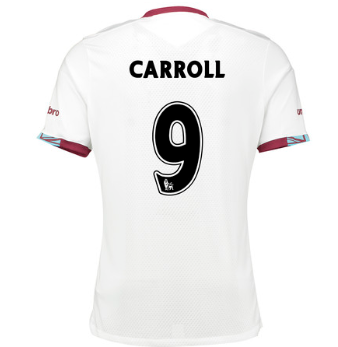 Maillot West Ham Andy Carroll Exterieur 2016/2017