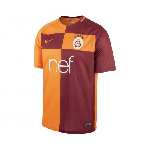 Maillot Nike Galatasaray Domicile 201718 Orange