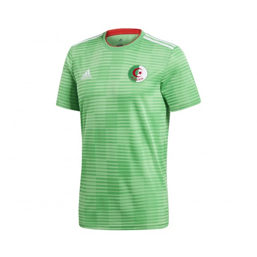 Maillot adidas Algérie Extérieur 201819 Vert Junior
