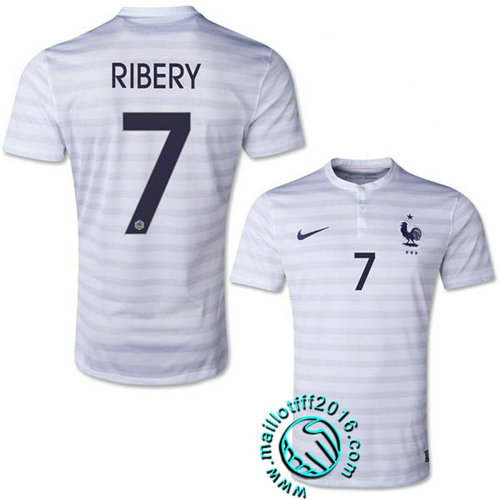 France Maillot foot (RIBERY 7) Extérieur 2015/16