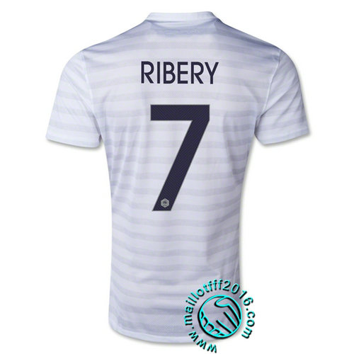 Maillot foot (RIBERY 7) France 2015/16 Extérieur