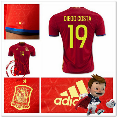 Maillots foot DIEGO COSTA Espagne
