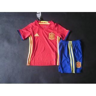 1er Maillot D'Espagne Coupe D'Europe 2015/2016 - Enfant France