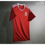 1er Maillot De Pays De Galles Uefa 2016 En Solde