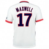 Maillot Foot PSG Maxwell Exterieur 2016/2017