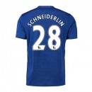 Maillot de Foot Man United Schneiderlin Exterieur 2016/2017