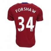 Maillot Middlesbrough FC Adam Forshaw Domicile 2016/2017