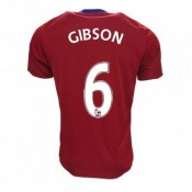 Maillot Middlesbrough FC Ben Gibson Domicile 2016/2017