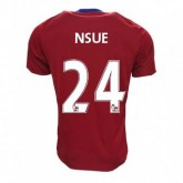 Maillot Middlesbrough FC Nsue Domicile 2016/2017