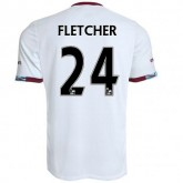 Maillot West Ham Ashley Fletcher Exterieur 2016/2017