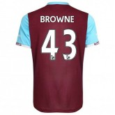 Maillot West Ham Browne Domicile 2016/2017