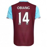 Maillot West Ham Pedro Obiang Domicile 2016/2017