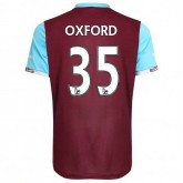 Maillot West Ham Reece Oxford Domicile 2016/2017