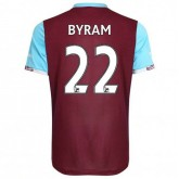 Maillot West Ham Sam Byram Domicile 2016/2017