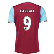 Maillot de West Ham United Andy Carroll Domicile 2016/2017